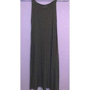 Loose gray American dream dress